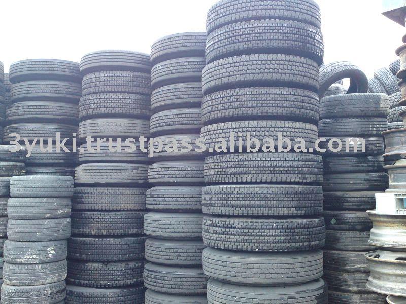 Pneus usados de caminhão para a venda 11r22.5 295/ 80r/ 22.5 1000r20 pneu de borracha