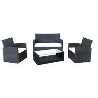 Wicker Sofa Set - KD Steel Frames