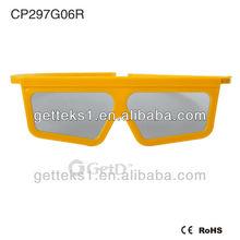 3D Circular Passive Polarized Glassses/Eyeglasses for Cinema---CP297G06