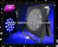 FLAT par 18 LED