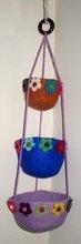 Felt Hanging Basket