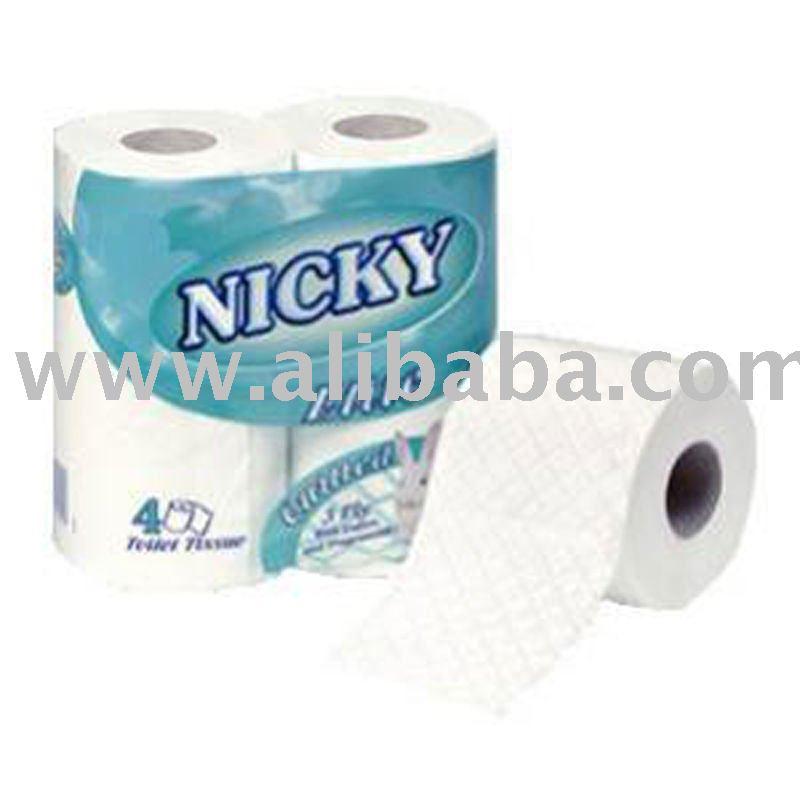 Toilet Rolls Nicky *Elite* Luxury 3ply 10 x 4pk