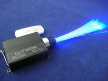 AC100-240V 16W LED Optical Fiber light engine;RGB with remote controller;one end light,Material Aluminium;Dimension165*88*40mm