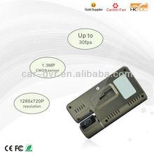 HD Mini DVR 808 Car Key Chain Micro Camera With GPS Tracking Plotter Car Black Box DVR