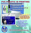 PVC Plastic Card Thermal Printing