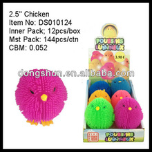 "2.5"" Cute Chicken Animal Child Promotional Toys"