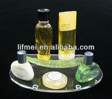 2013 hot wholesale Acrylic Leaf Amenity Tray