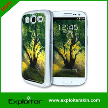 factory PC case for galaxy s3 mobile phone gel cover