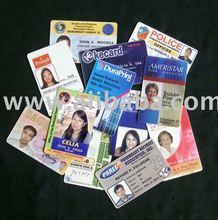PVC ID Plastic Card