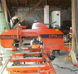 Wood Mizer LT 70, band saw, used machine, 6 month used olny