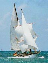 Sailing Yacht Luebbe & Voss Brigantine