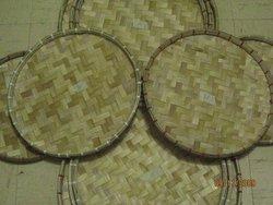 """Woven Circular tray """"Bilao"""""""