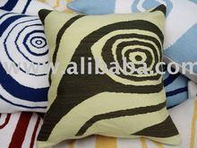 Green Eye decorative cushion cover