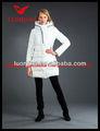 de poliéster brillante chino de seda para mujer chaqueta