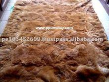 """Baby Alpaca Rug / Baby Alpaca Bedspread Peru 71x57"""""""
