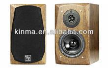 2.0 Hi-Fi Portable Multimedia wooden active pa indoor Speaker