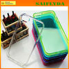 Fashionable colorful tpu soft clear case for iphone 5 facoty price