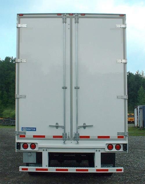 Semi Trailer Doors Panels Photo Detailed About Semi