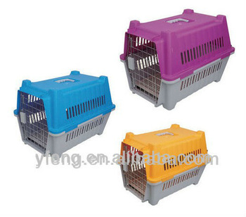 aluminum pet cage dog carrier
