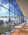 Toughen templado de vidrio de la ventana/de la pared con un/nzs 2208:1996, bs6206, en12150