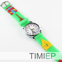 CHILDRENS KIDS BATMAN 3D QUARTZ WRIST WATCH GIFT FUNNY WATCHES
