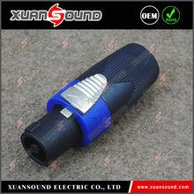 XUANSOUND speakON, speaker connector 4 pin