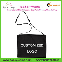 Hot Sale Promotional Blank Musette Bag Plain Cycling Musette Bag