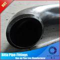 cotovelo de aço carbono acessórios para tubos de peso para flanges