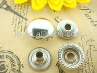 high quality metal talon ring snap button