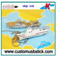 newest ship shape usb flash drive 128MB