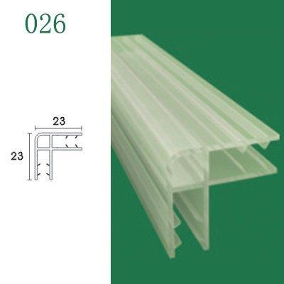 Puerta de la ducha - junta de vidrio para puertas de ducha y mamparas baño - modelo 026