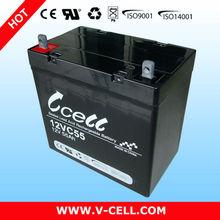 55Ah 12V electric car battery