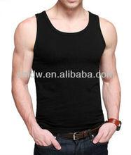 Slim fit wholesale plain tank tops men