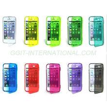 Transparent Flip Cover For Samsung I9190 Galaxy S4 Mini Flip Cover