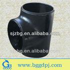 BG ASME B 16.9 Sch 80 carbon seamless steel reducing tee