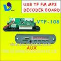 Vtf-108 digital de áudio dispositivos de gravação