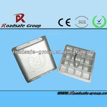 glass bead aluminium road stud