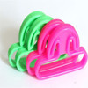 free shipping soft eco-friendly silicon rubber handle for utensils