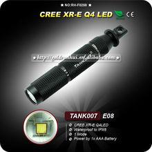 Goldrunhui RH-F0259 Q4 LED AAA Battery Torch Waterproof