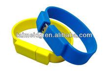 unique fancy promotional bracelet usb