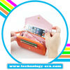 Korean style wallet leather case for iphone 4 4s 5 /for htc handbags /for blackberry pouch bag