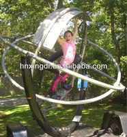 Hot selling amusement park machine amusement rides human gyroscope