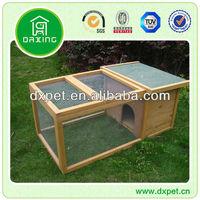 waterproof wooden rabbit cage DXR010