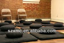 healthy Fitness round India style yoga cushion mat