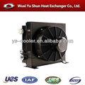 intercambiador de calor de placas soldadas / enfriador de aceite de ventilador hidráulico / empresa de intercambiador de calor