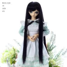 long black doll wigs