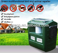 Garden solar ultrasonic sounds sonic animal repeller multifunction control pigeon,bat,sparrow,rat,snake,dog,cat,elephant,fox.