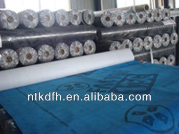 Breathable membrane for petroleum asphalt roofing felt