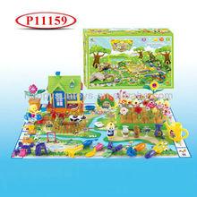 DIY Happy Farm Play Set Toy With Music P11159