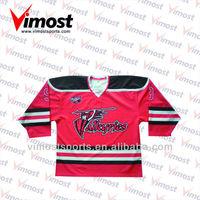 Custom senior ice hockey sticks and jersey pants